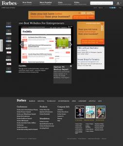 FinSMEs   In Photos  100 Best Websites For Entrepreneurs   Forbes