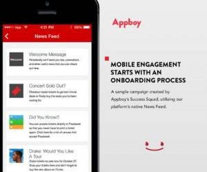 APPBOY MOBILE ENGAGEMENT CAMPAIGN