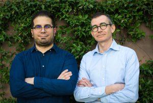 from left: Francesco Inguscio and Fabrizio Bosio