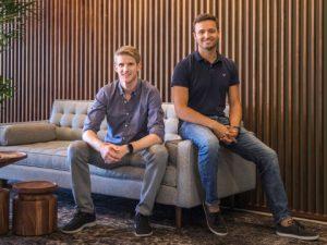 Kodiak Robotics co-founders Don Burnette and Paz Eshel (Photo: Business Wire)