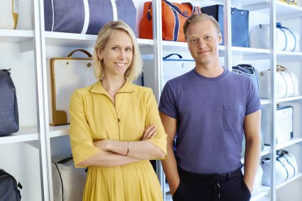 Co-founders Indré Rockefeller and Andy Krantz