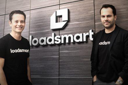 Loadsmart co-founders Ricardo Salgado and Felipe Capella