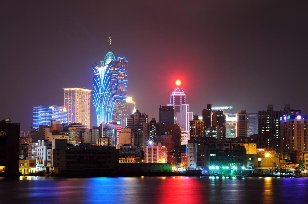 Night scenes of Macau