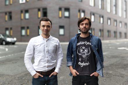 PopTop - l-r Eugene Shestopal and Ignat Tkhorovskiy