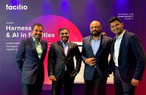 Facilio Founders (L-R) - Yogendra Babu, Prabhu Ramachandran, Krishnamoorthy Rangasamy, Rajavel Subramanian