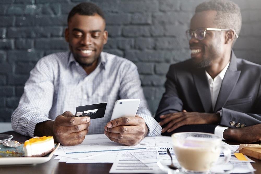 mobile banking customer