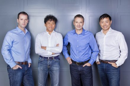 Magenta Venture Partners team. Photo credit - Inbal Marmari