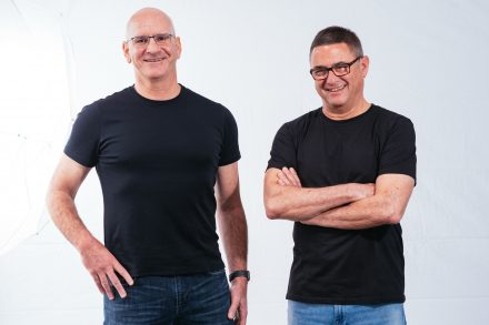 Redis Labs co-founders Yiftach Shoolman, CTO (L) and Ofer Bengal, CEO (R)