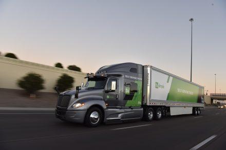 tusimple trucks