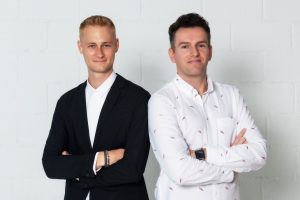 Shedul Founders-Nick Miller-left-William Zeqiri-right