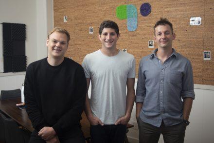 Ethan Winchell, COO; Ryan Sandler, CEO; Victor Kabdebon, CTO