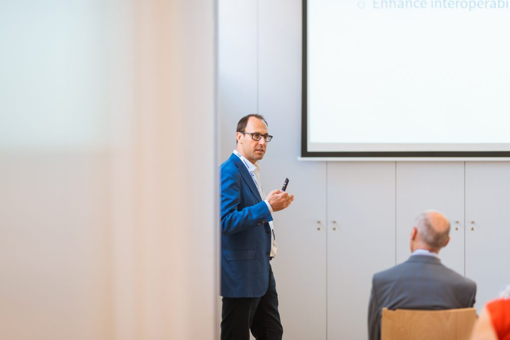 Customs4trade CEO Pieter Haesaert