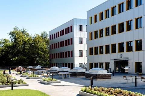 The new NOK1 billion Oslo Cancer Cluster Innovation Park opened August 24, 2015 (Photo: Business Wire)