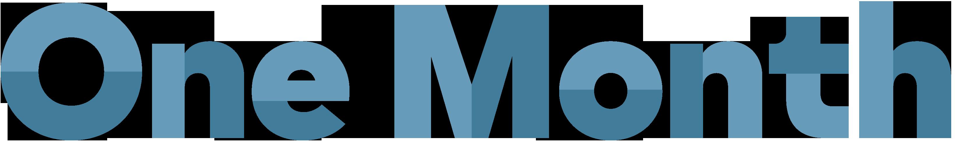 One-Month-Brand_Logo-Blue