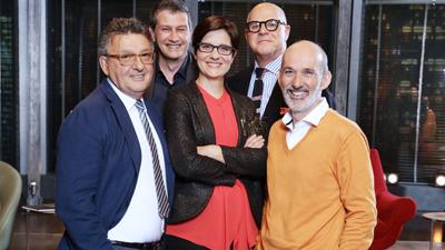 From Left: Luciano Pedretti, Gianluca Dettori, Mariarita Costanza, Gianpietro Vigorelli, and Fabio Cannavale