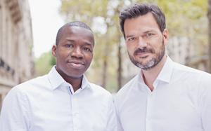 Partech Africa General Partner Tidjane Dème and Cyril Collon
