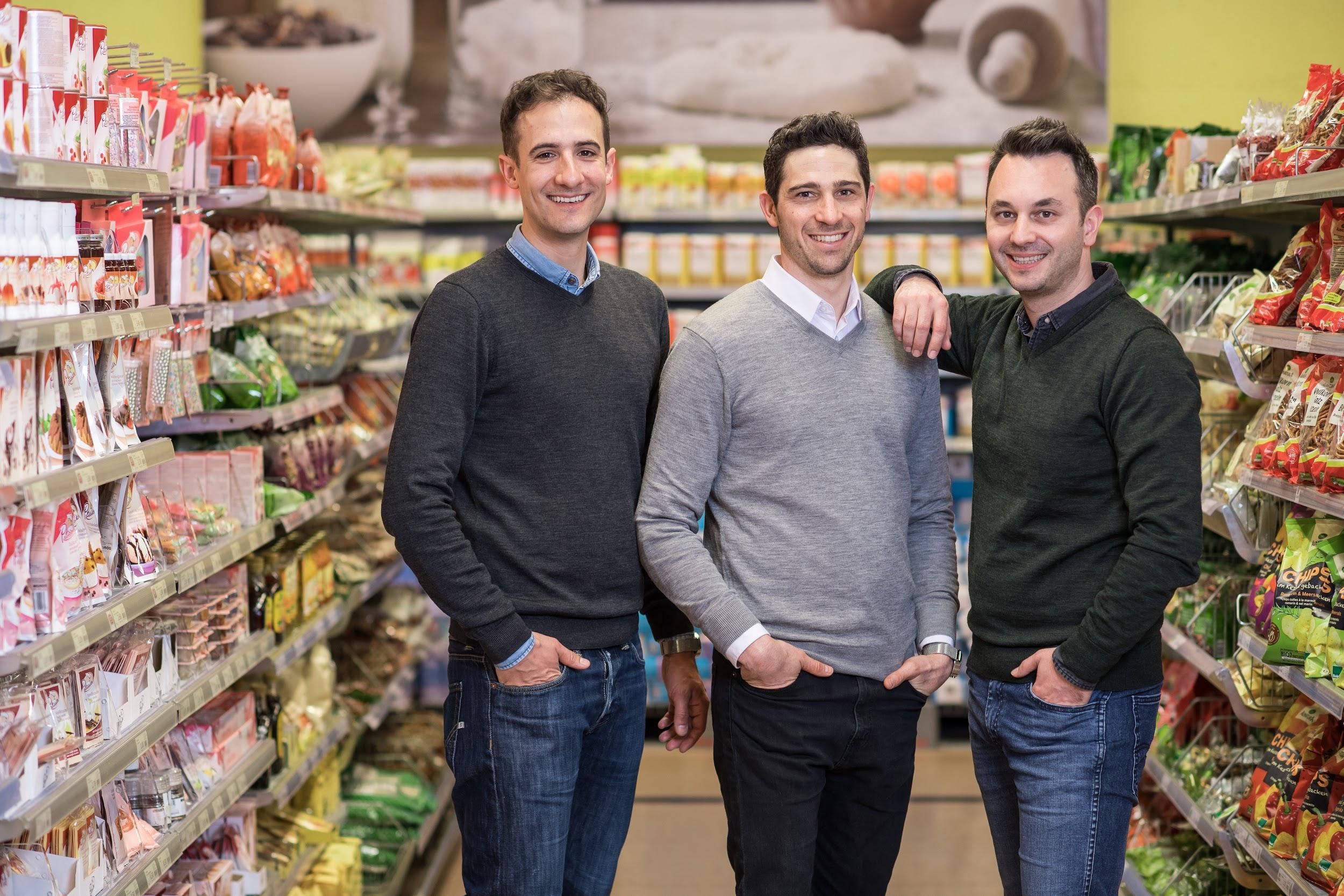 Bring! founders: Marco Cerqui, Dominic Mehr, Sandro Strebel.