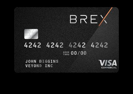 card image brex