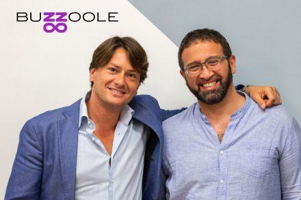 Buzzoole Co-Founders Fabrizio Perrone & Gennaro Varriale (PRNewsfoto/Buzzoole)