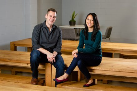 Second Measure co-founders Michael Babineau and Lillian Chou
