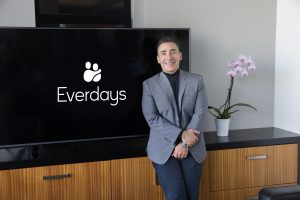 Everdays' founder and CEO Mark Alhermizi