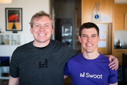 Swoot Founders Pete Curley and Garret Heaton