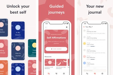 Jour iOS app screenshots