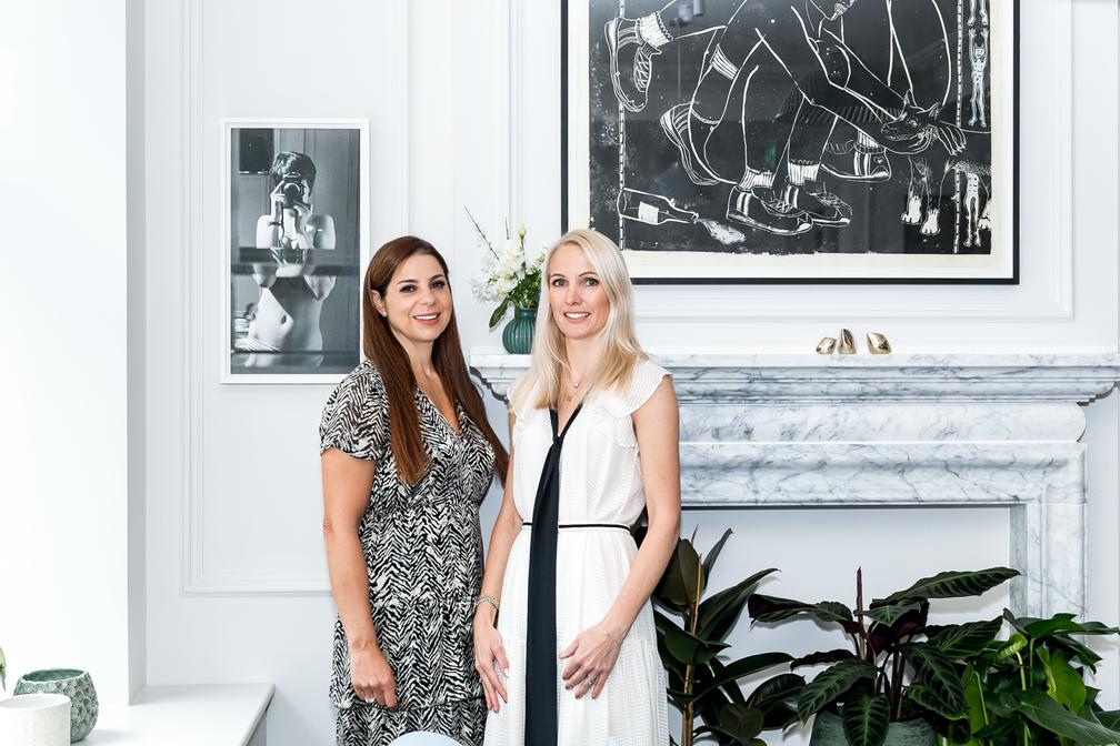 co-founders Anna Jones and Debbie Wosskow