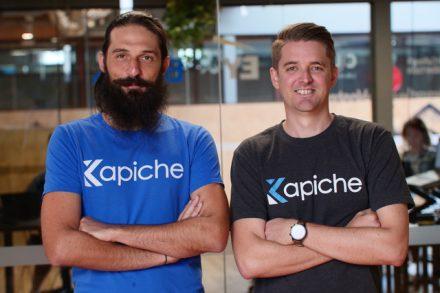 Kapiche Co-Founder Kris Rogers (left) and Kapiche CEO & Founder Ryan Stuart (right)