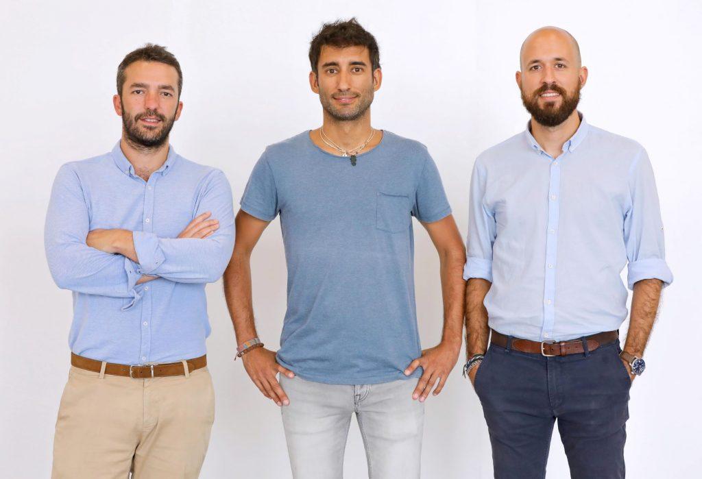 Founders. From left to right_Eduardo Liviano, David Samaranch and Pablo Samaranch