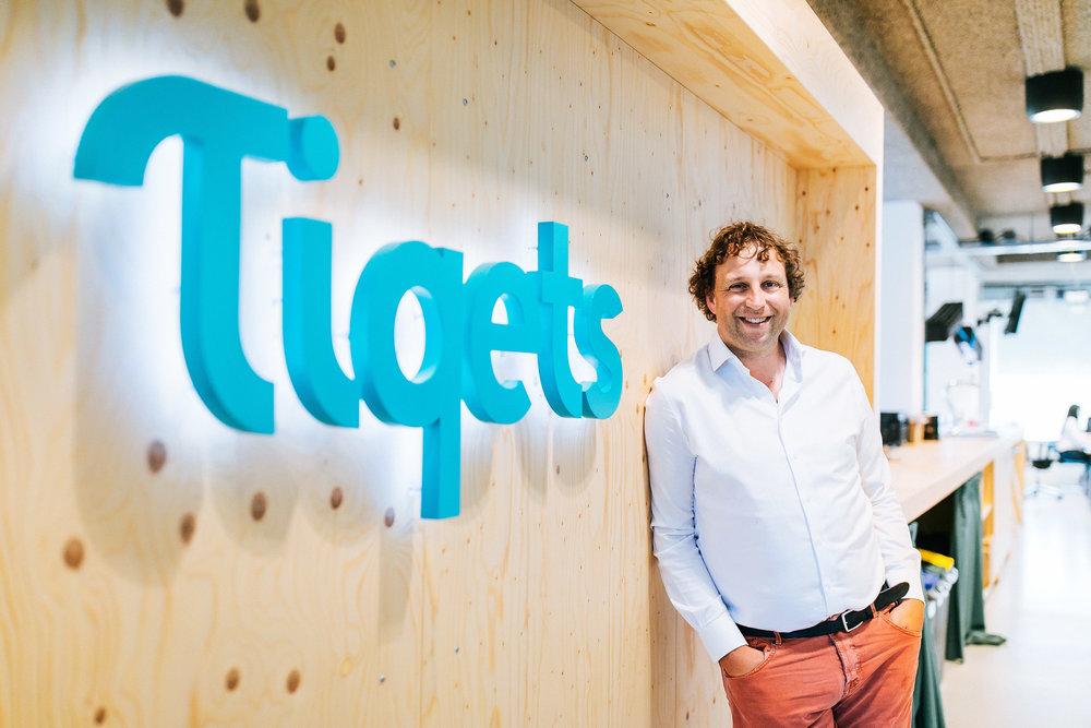 Luuc Elzinga CEO Tiqets
