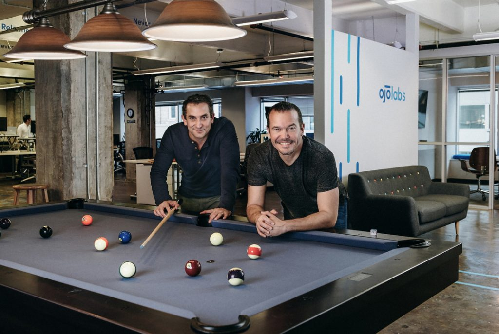 OJO Labs co-founders CEO John Berkowitz (left) and Chief Strategy Officer David Rubin