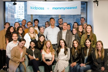 The KidPass and Mommy Nearest team in their New York office