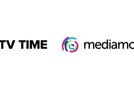 TV Time and Mediamorph logos