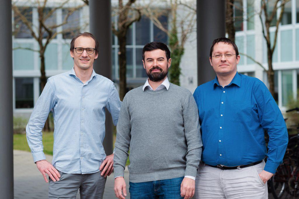 Blickfeld Founders fltr: Florian Petit, Mathias Mueller, Rolf Wojtech (Photo: Business Wire)