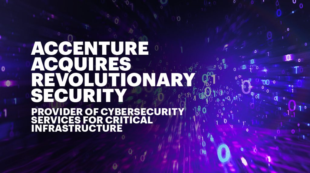 Accenture - Revolutionary Security