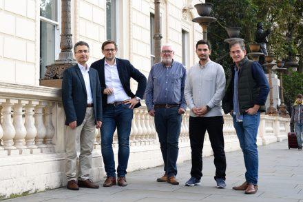 Bubo founders - Huseyin Seker, Marcin Lisowski, Alan Timothy, Furkan Tektas and David Shell