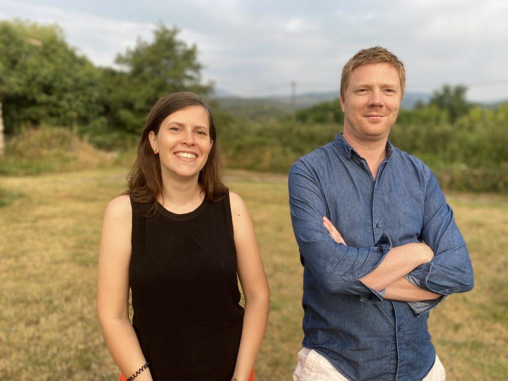 CEO Isabel Bescos and CTO Matthew Scheybeler