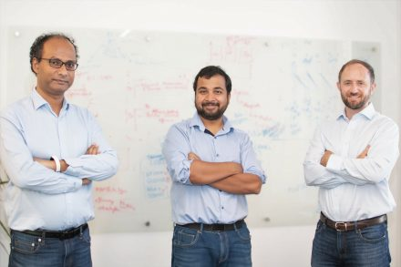 Truera's founders: Anupam Datta, Shayak Sen and Will Uppington