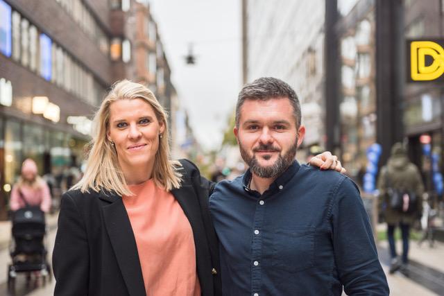 CEO Charlotte Ekelund and CTO Oleg Danylenko