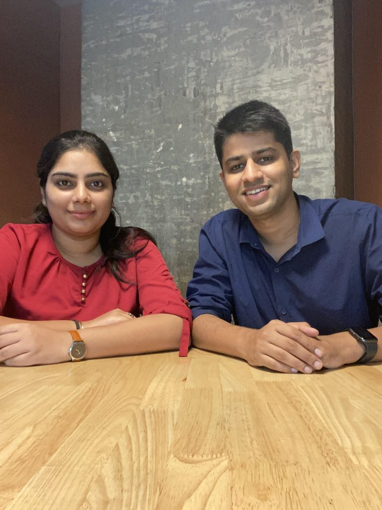 L-R-Rupika-TanejaCo-founder-of-Codeyoung-and-Shailendra-Dhakad-Co-founder-of-Codeyoung