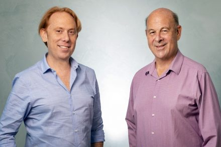 Mileutis founders from left to right - David Javier Iscovich the CEO and Dr. Jose Iscovich, president. Photo - Eyal Toueg