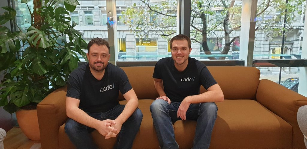 James Campbell CEO and Co-Founder (Left) - Chris Doman CTO and Co-Founder (Right)