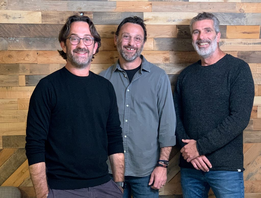 Optimax founders: Daniel Rothman (CEO), Eldad Rothman (COO), and Roy Yamner (CTO)