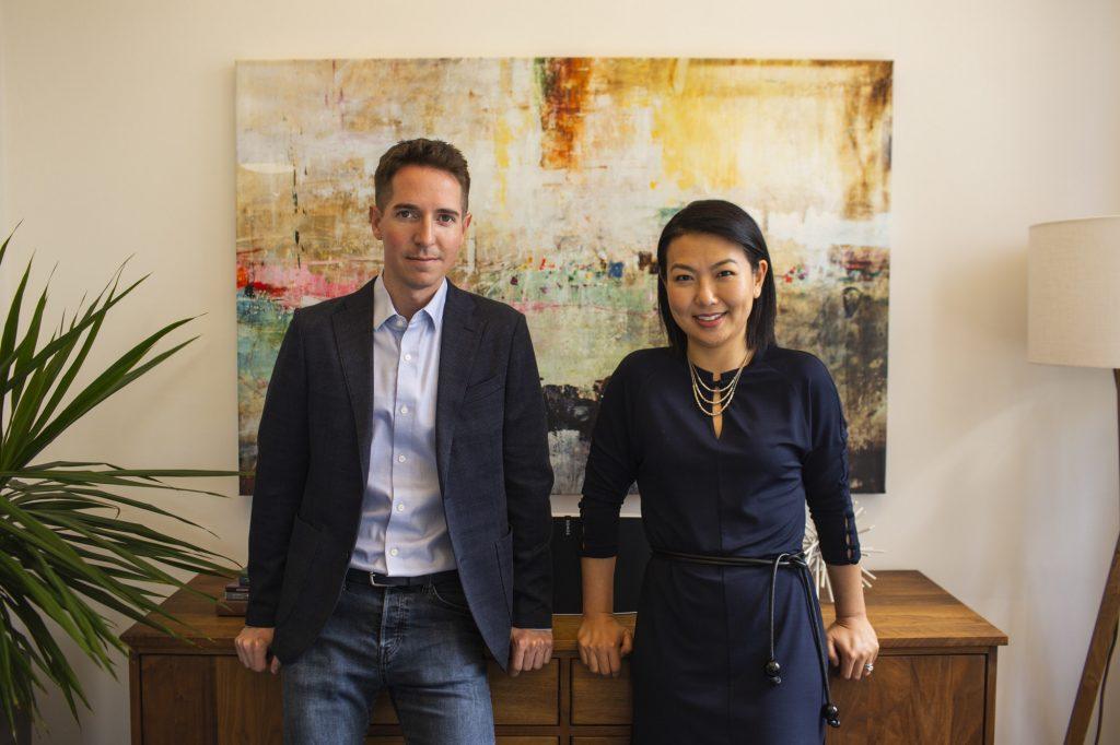 Glenn Rockman and Jenny Yip, managing partners at Adjuvant Capital.