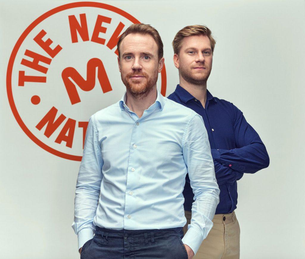 Krijn de Nood, PDG et co-fondateur (à gauche) et Daan Luining, CTO et co-fondateur de Meatable