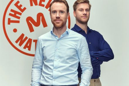 Krijn de Nood, CEO and co-founder (left) and Daan Luining, CTO and co-founder of Meatable