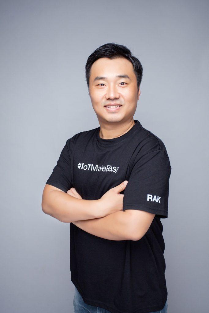 PDG de RAKwireless, Ken Yu