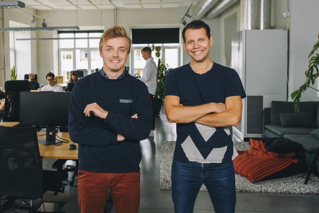 Veriff's founders Kaarel Kotkas and Janer Gorohhov