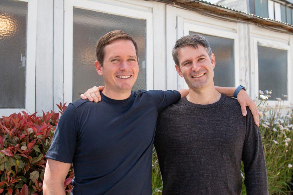 Co-fondateurs de ReCharge Oisin O'Connor (PDG) et Mike Flynn (CTO)